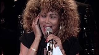 Tina Turner performs