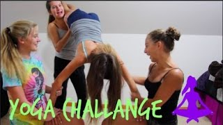 BREAKING MY SPINE? // YOGA CHALLENGE