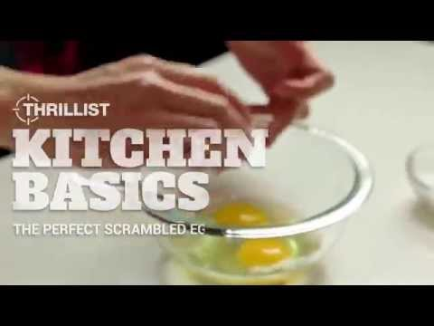 Thrillist Kitchen Basics: How to Make the Perfect Scrambled Eggs