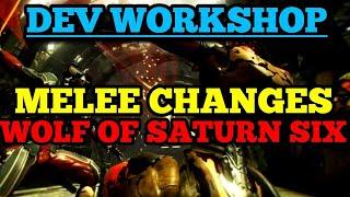 Melee Changes & Alert Changes | Warframe Developer's Workshop Summary