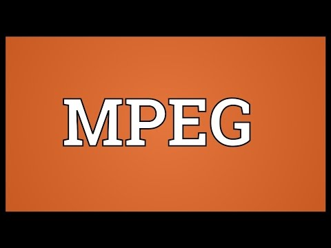 MPEG Meaning