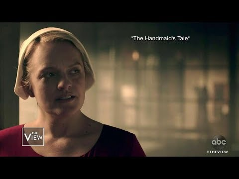 Elisabeth Moss Compares 'Handmaid's Tale' & Abortion Ban | The View
