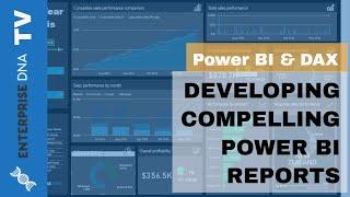 النامية مقنعة Power BI التقارير و لوحات - Power BI & DAX