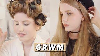 GRWM • Makeup, Hair & Outfit