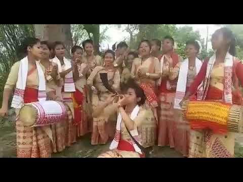 BIHU ASSAMESE GIRLS' DHUL TAL PEPA