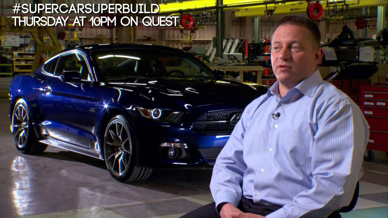 Supercar Superbuild Ford Mustang Beach Daly Technical Youtube