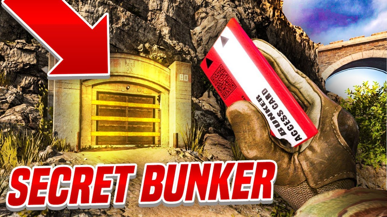 Opening Secret Bunkers In Cod Warzone Loot Vaults Youtube