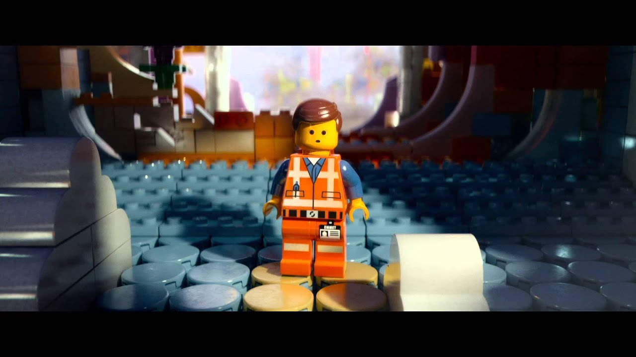 THE LEGO MOVIE - TRAILER (GREEK SUBS)