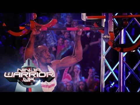 GB Decathlete Jahmal Germain BLASTS through the course! | Ninja Warrior UK
