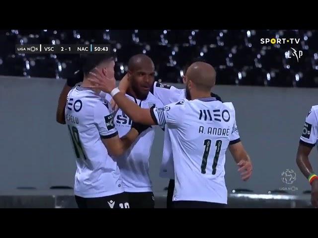 Goal | Golo O. Estupiñán: Vitória SC (2)-1 CD Nacional (Liga 20/21 #12)
