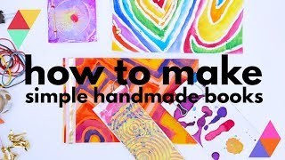 How To Make Books With 5 Simple Book Binding Methods Babble Dabble Do