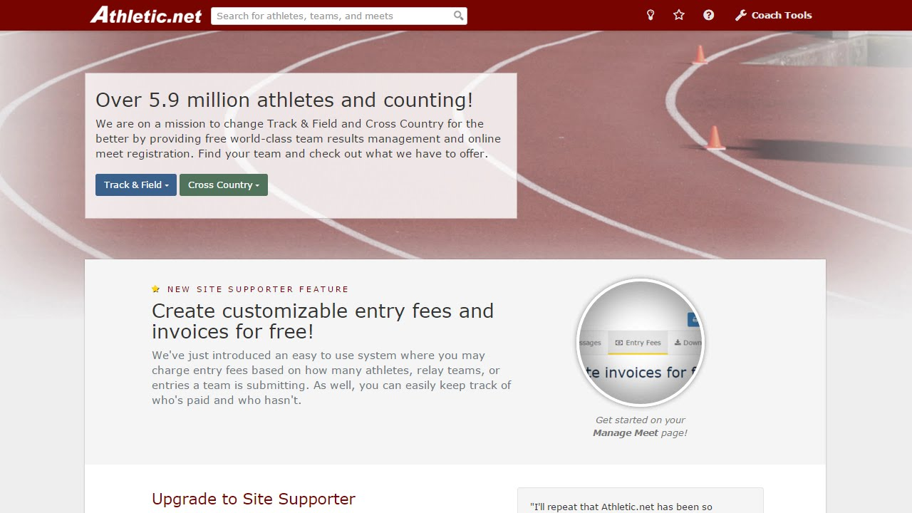 How to Register & Confirm Qualifier Entries - Athletic net