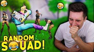 Röny & Reinöld auf Mission! 😂 - Fortnite Random Squad!