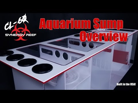 Synergy Reef CL 60 Red White Sump