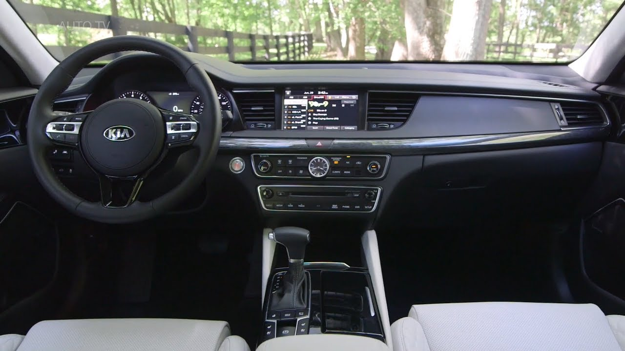 kia k7 2021 interior - car wallpaper
