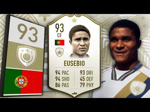 FIFA 19 - Zaginiony brat Pelé! - 93 Prime Eusébio!