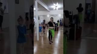 Танец девочек