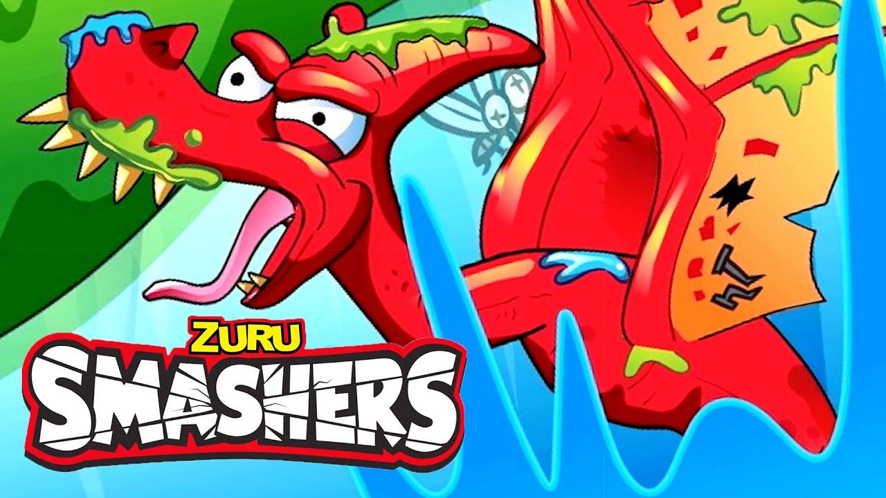 Download SMASHERS | Dino Ice Age | Series 3 Episode 3 | Cartoons for Kids! | ZURU