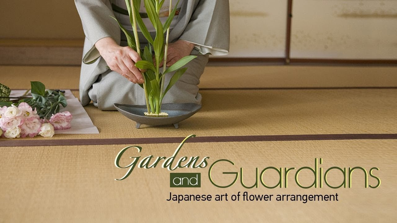 Ikebana Japanese Art Of Flower Arrangement Youtube