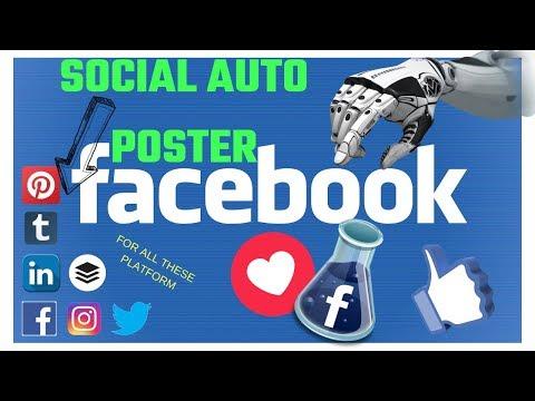 Social Auto Poster I Unlimited Traffic on Facebook, Instagram, Twitter, Pinterest, Tumblr