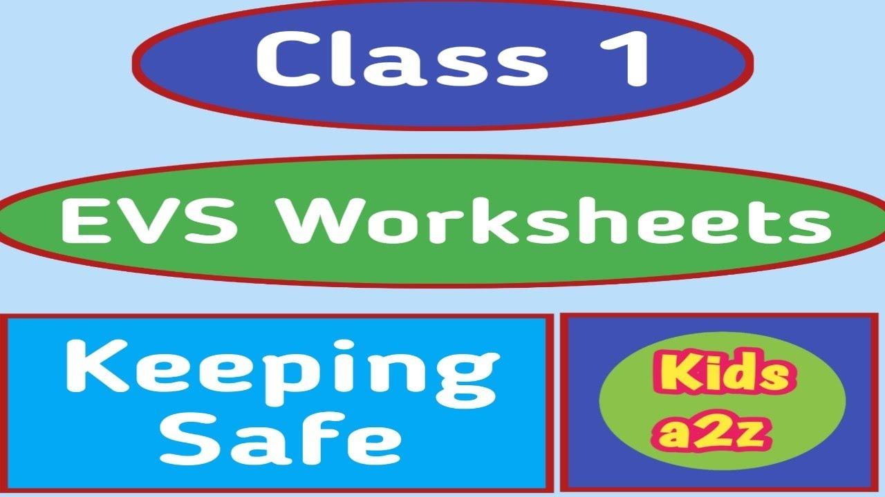 My Neighbourhood - EVS Worksheets for Class 1   Grade 1 EVS Worksheets -  YouTube [ 720 x 1280 Pixel ]