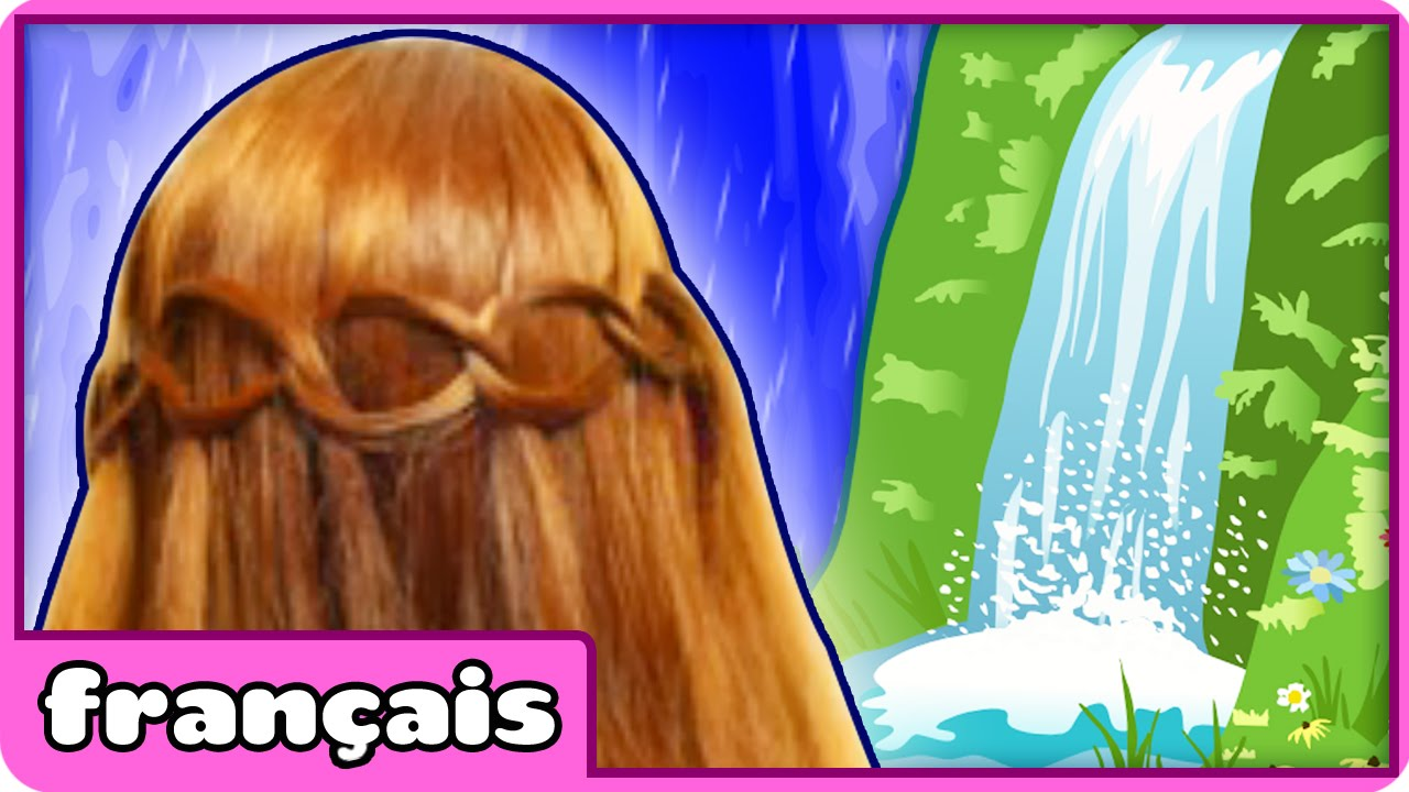 Tresse cascade en boucle loop waterfall braid tuto coiffure youtube - Tresse en cascade ...