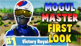MOGUL MASTER SKIN FIRST IMPRESSION | Fortnite: Battle Royale Gameplay