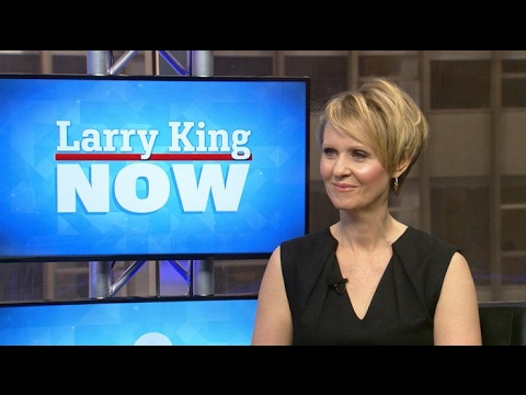 Cynthia Nixon blasts President Trump | Larry King Now | Ora.TV