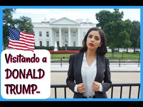 DE TRAJE VISITANDO A DONALD TRUMP/ LA CASA BLANCA - Vlogs diarios - Jackie Hernandez