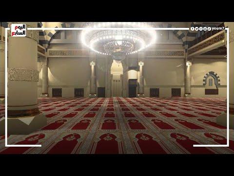 فتح دورات مياه المساجد لا?ول مرة المسجد الكبير يستقبل المصلين ببورسعيد