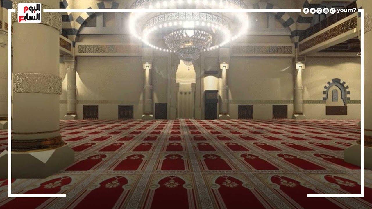 فتح دورات مياه المساجد لا?ول مرة المسجد الكبير يستقبل المصلين ببورسعيد  - 12:55-2021 / 10 / 20