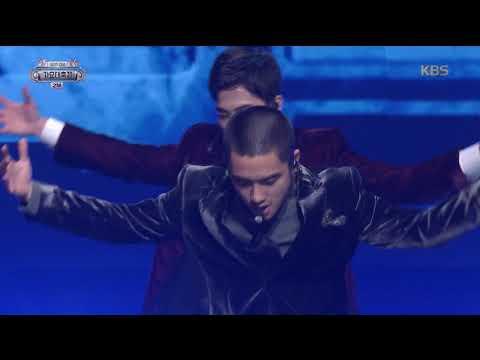 2017 KBS가요대축제 Music Festival - EXO (엑소) - POWER (POWER - EXO). 20171229