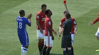 what happens if alex hunter gets a red card fifa 17 the journey