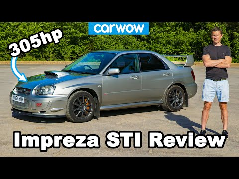 Subaru Impreza WRX STi Prodrive 2004 – see why it's the best Scooby ever!
