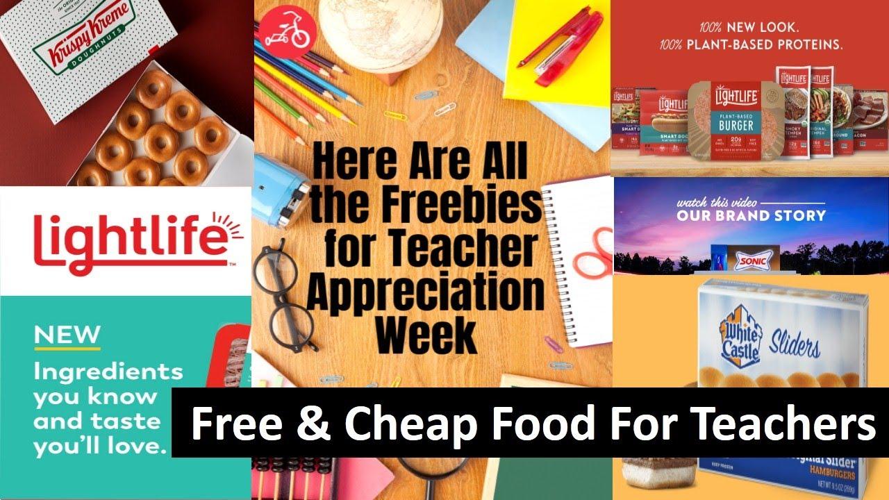Teacher Appreciation Week 2021: Freebies and deals for educators