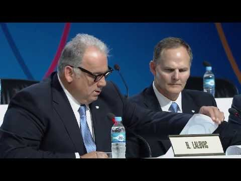 WRESTLING - FILA Presentation - 125th IOC Session in Buenos Aires 08 september 2013
