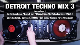 Detroit Techno Mix 3 | With Tracklist | Vinyl Mix