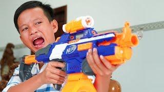 Đồ Chơi Bắn Súng Nerf Cuộc Chiến Mì Cay: Nerf War Spicy Noodles Battle Shot