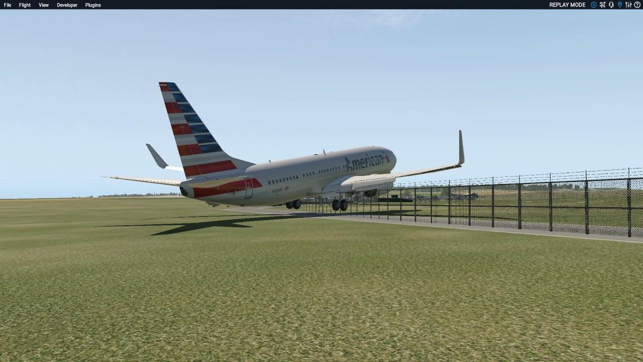 Boeing 737 800 landing at EGNF - YouTube