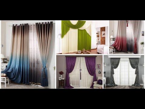 Beautiful curtain design ideas |  Window curtains for living rooms | home decor ideas