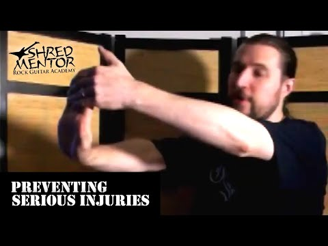 Preventing Serious Injuries | Metal & Shred Guitar Lessons | Guitar Teacher for Maryland, DC, & VA