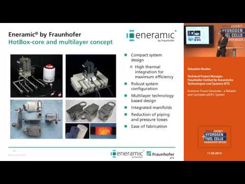 Eneramic Power Generator - a Reliable and Cycleable μSOFC-System