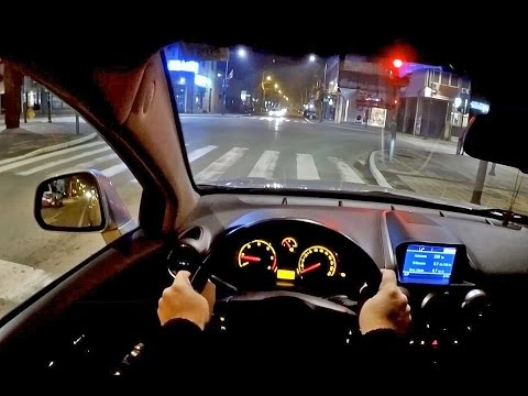 OPEL ANTARA 2.0 CDTi | VALJEVO | CITY DRIVE | NIGHT | POV Dr