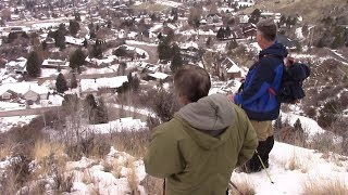 Our Getting to the Spot - Provo Bigfoot Sighting Jan 2019