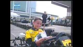 Gokarty: Robert Kubica vs. amatorzy (Otwarcie Wizji Sport 1999)