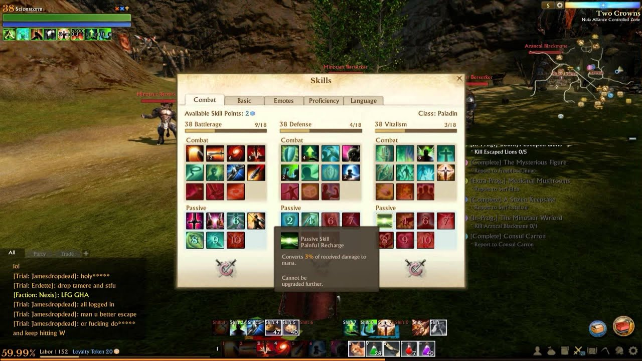 Paladin Build Archeage