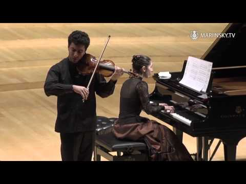 Sergey and Lusine Khachatryan at the Mariinsky Concert Hall