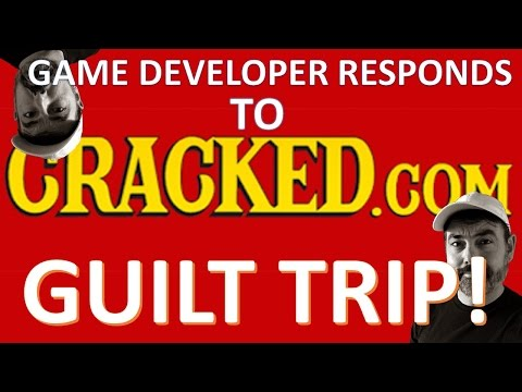 Developer responds to Cracked's Video Game GUILT TRIP