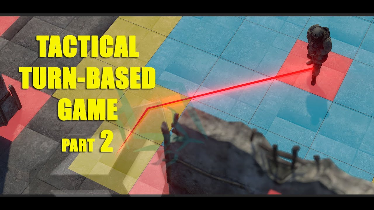 Unity 5 Tutorial Tactical Turn Based Game Part 2 Unit Movement X-Com Style