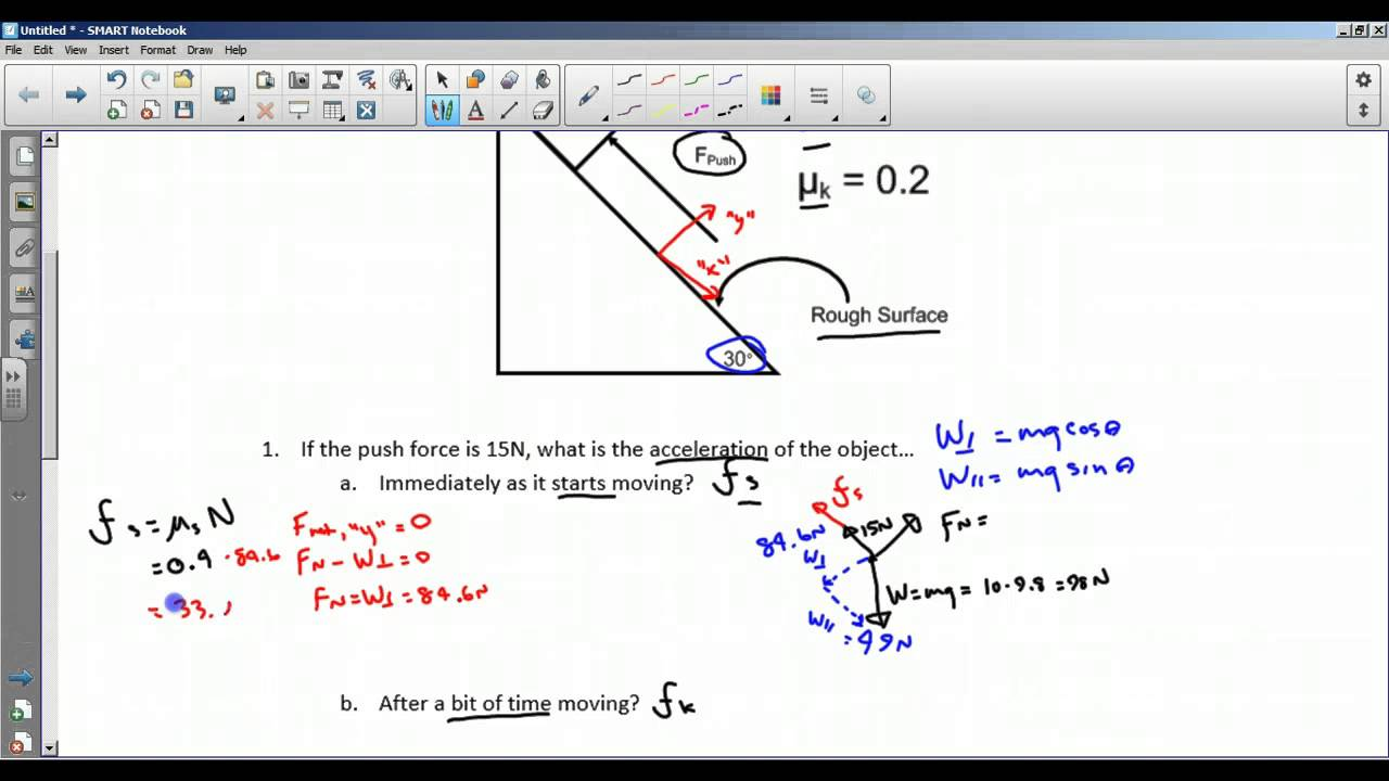 Inclined Planes Worksheet 1 YouTube – Inclined Plane Worksheet